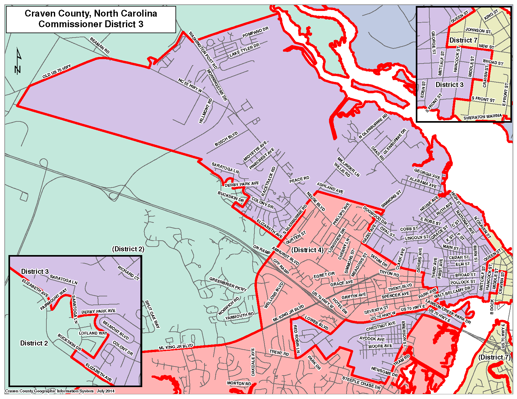 Commissioner District 3 Map