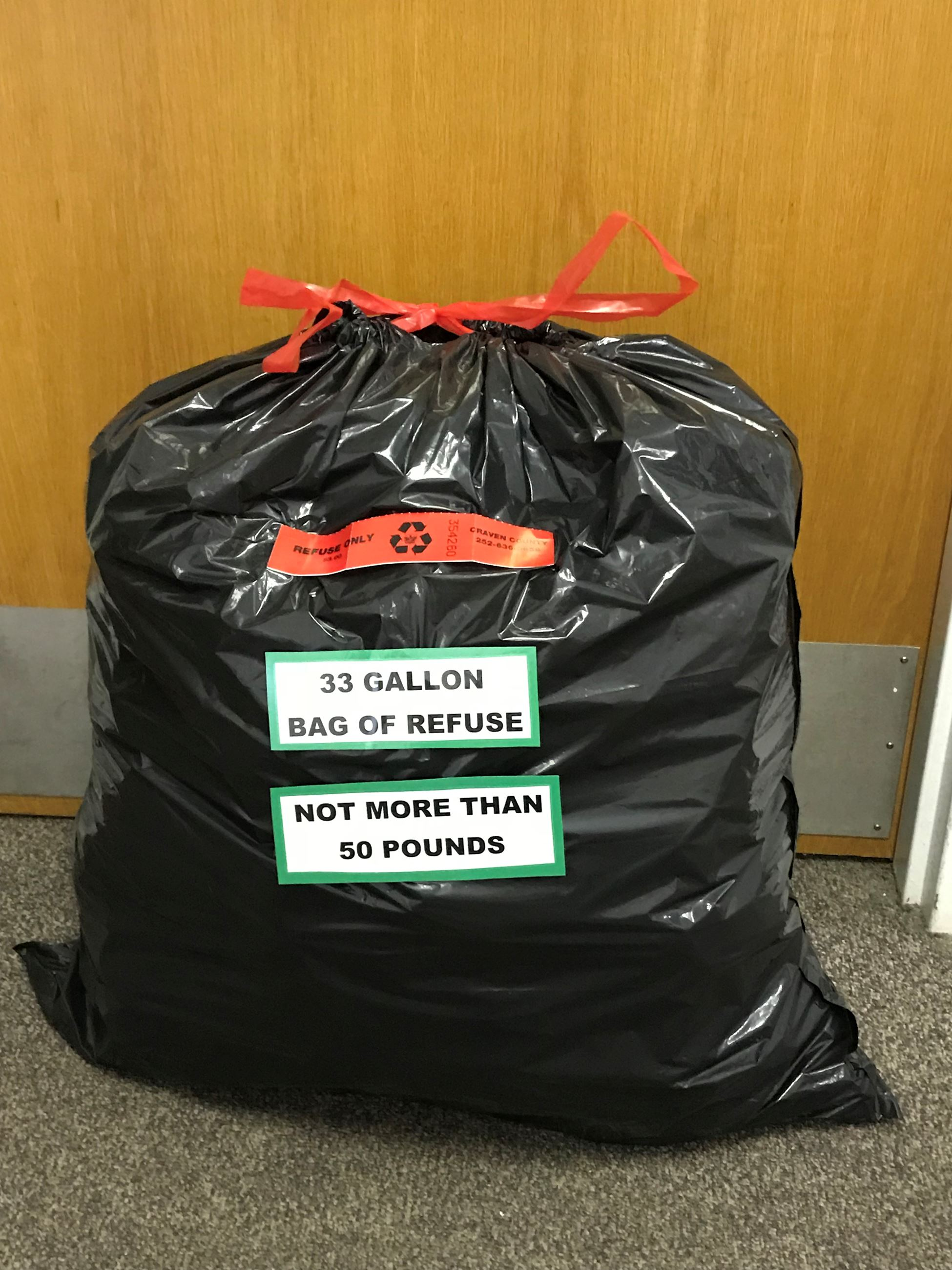 33 gal Refuse Bag